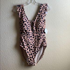 Marina West Leopard Swim - NWT